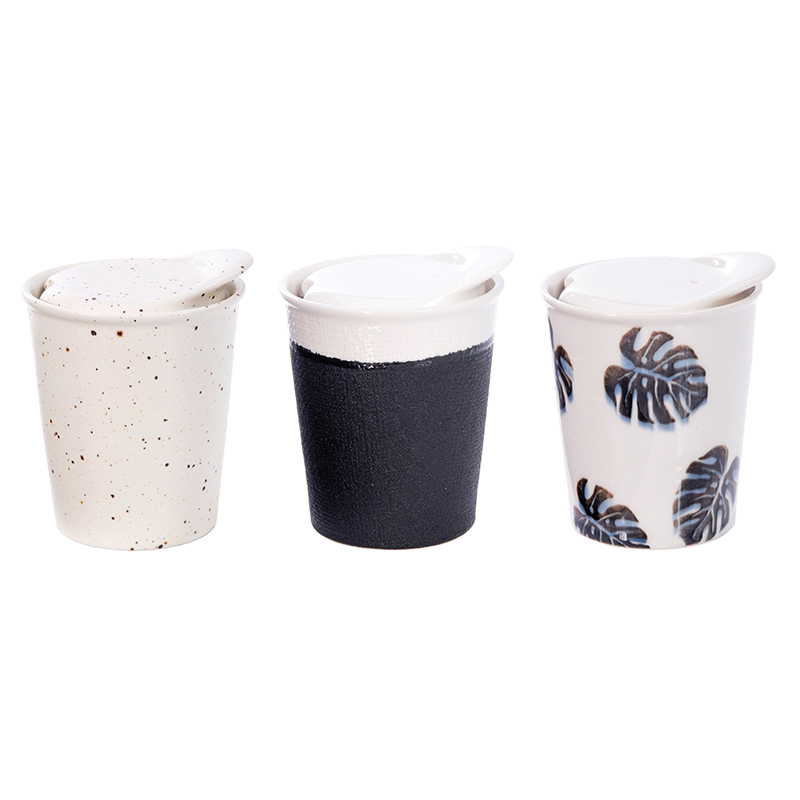ECUP CERAMIC DOUBLE WALLED CUP