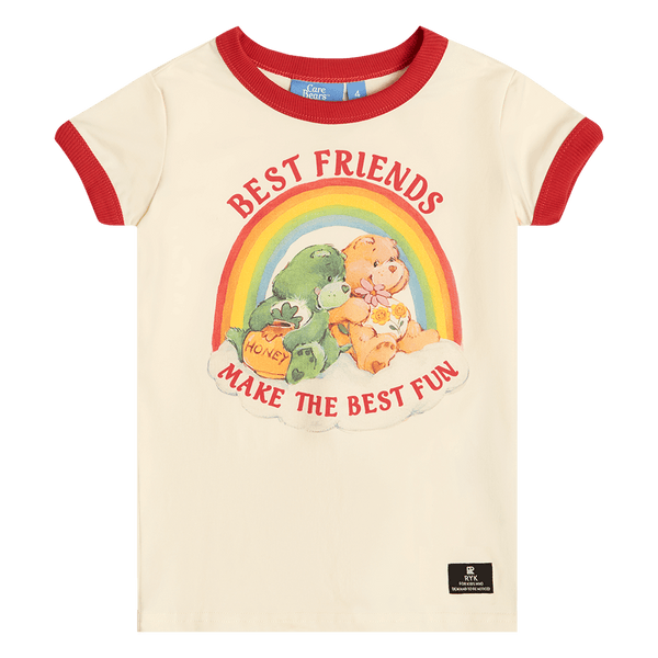 BEST FRIENDS RINGER TEE