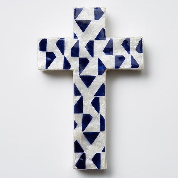 BLUE TRI CROSS