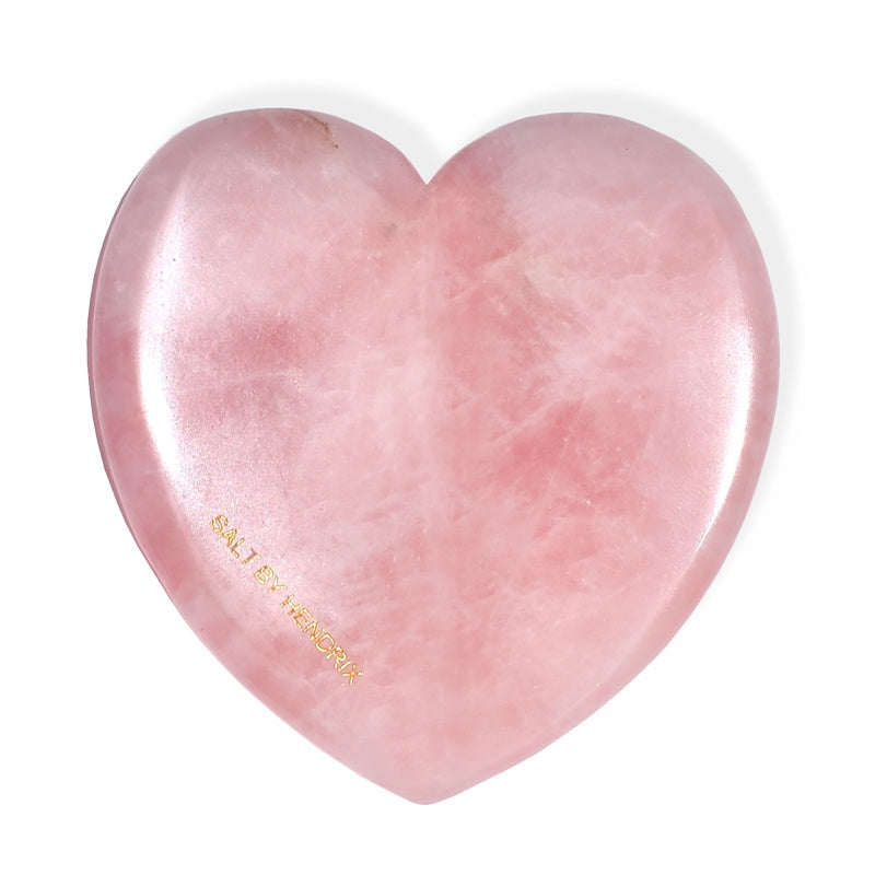 LOVE GUA SHA - ROSE QUARTZ