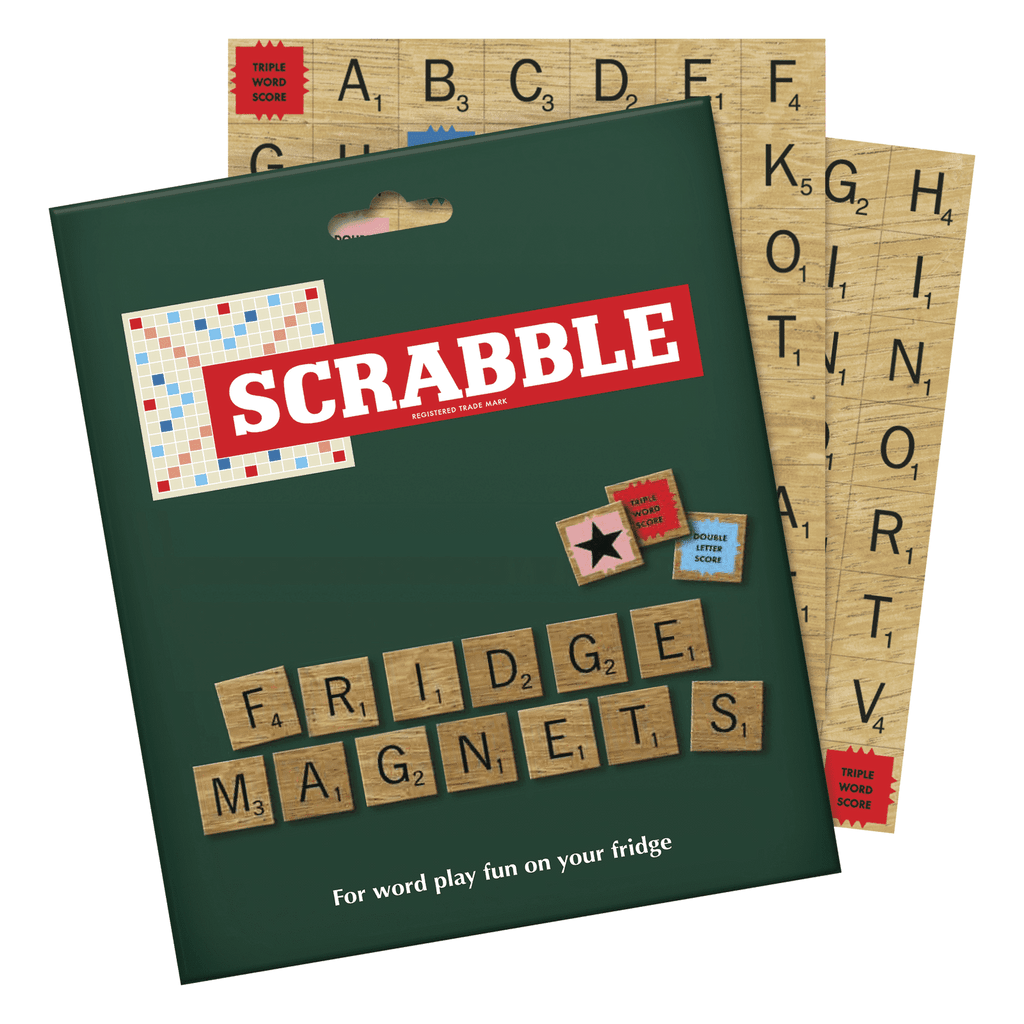 SCRABBLE FRIDGE MAGNET