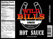 Load image into Gallery viewer, Wild Bill's Hot Sauce 5oz