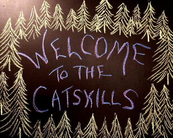 Welcome to the Catskills sign