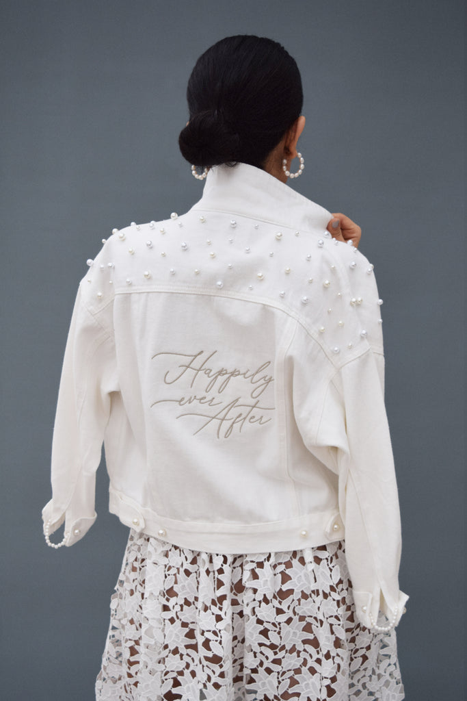 Happily Ever After White Jacket
