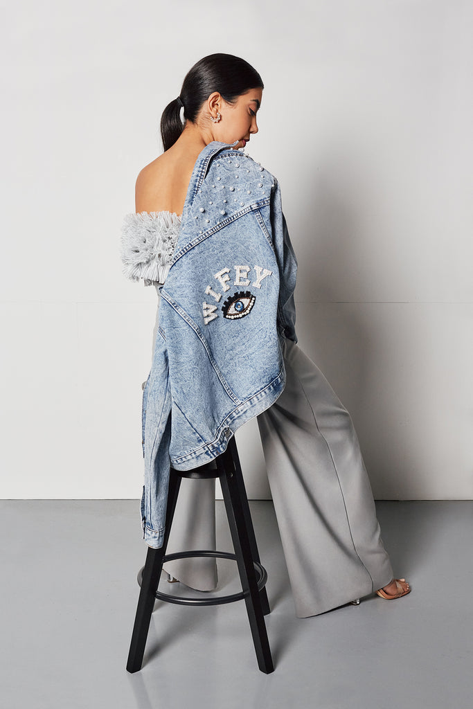 Wifey Denim Jacket