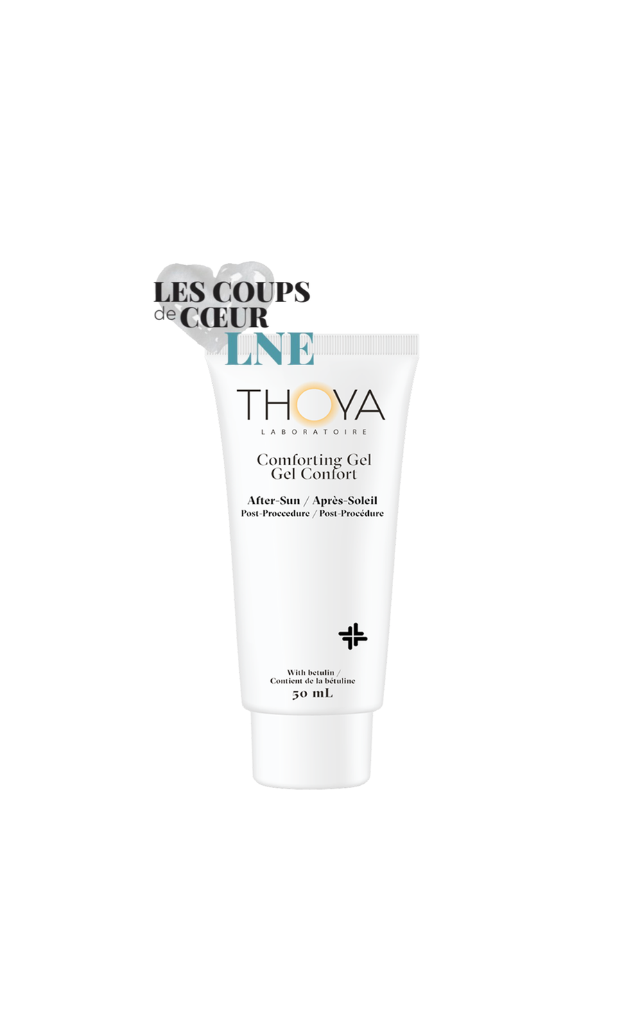 Thoya All Comforting Gel - After sun – Post procedure - Best all natural skincare - Hypoallergernic - Dermatologist tested - Fragrance free