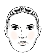 Square face type