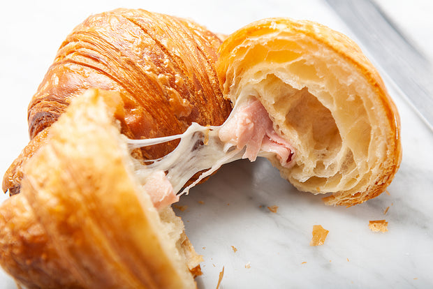 Ham & Cheese Croissant - FROZEN - Pack of 6 pcs