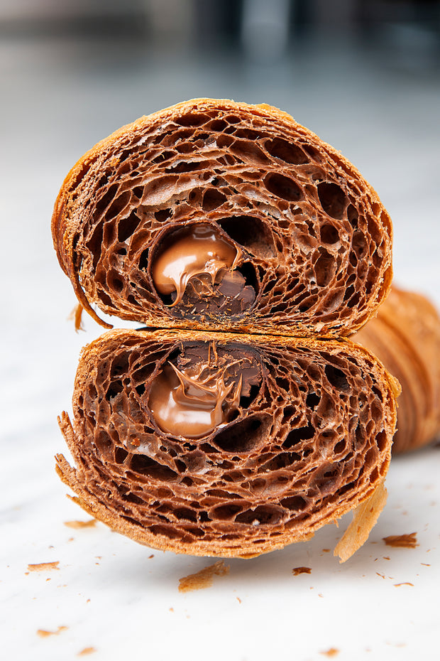 The One & Only Triple Chocolate Croissant - FROZEN - Pack of 6 pcs