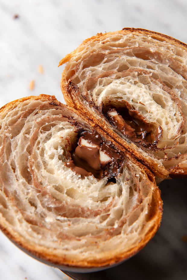 The One & Only Bicolor Croissant- FROZEN - Pack of 6 pcs