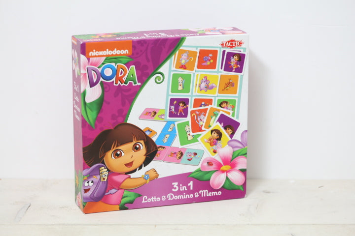 Tweedehands Dora kinderspullen lotto