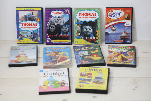 Tweedehands Thoms de Trein DVD's kinderserie
