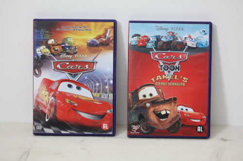 Tweedehands Disney DVD pakket Cars Pixar