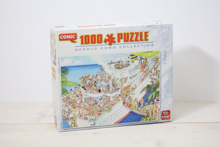 Comic puzzel 1000 stukjes cruise | King