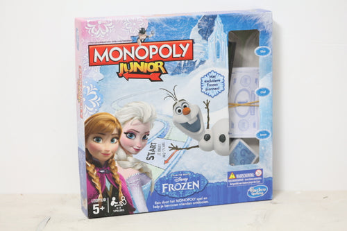 Tweedehands kinderspellen Monopoly frozen junior