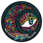 "BUKU 2018 HOLOGRAPHIC ""MOON EYE"" MAGNET"