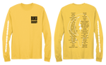 2019 LINEUP LONGSLEEVE (WASHED YELLOW)