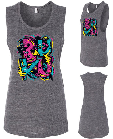 BUKU LADIES TANK (GREY)