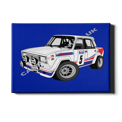CAR-TOON PERSONALISED CANVAS