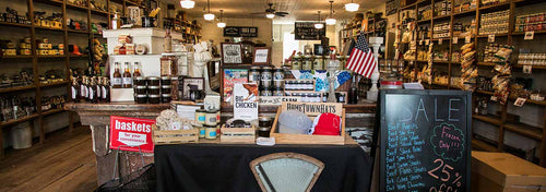 Interior of the general store