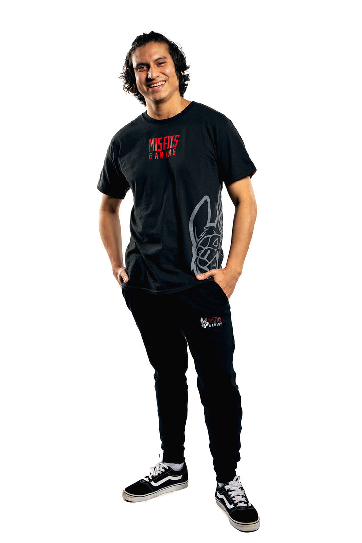 Misfits Gaming Misplace Tee, Black