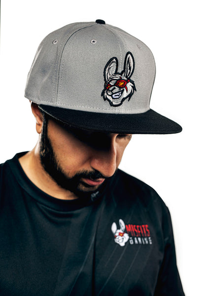 Misfits Gaming New Era Snapback, Grey