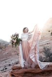 Mae Hand Painted Wedding Dress