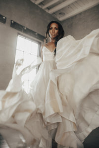 Jolene Hand Painted Wedding Dress