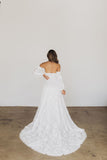 Flora Organza Wedding Dress