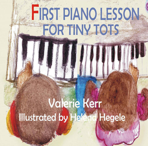 First Piano Lesson for Tiny Tots