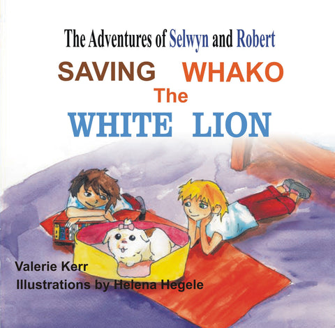 Saving Whako the White Lion