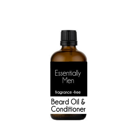 Fragrance-Free Beard Oil & Conditioner