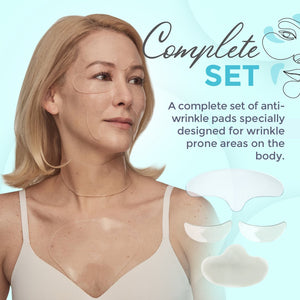 Anti-Wrinkle Silicone Skin Patches