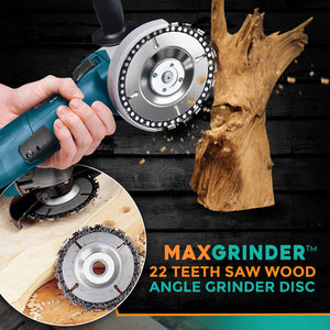 MaxGrinder™ 22 Teeth Saw Wood Angle Grinder Disc
