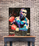 Tableau boxe <br> IRON MIKE TYSON