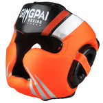 Casques de boxe orange