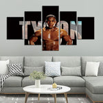 Tableau boxe Mike Tyson KING