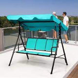 3 Person Patio Swing Outdoor Canopy Yard Furniture