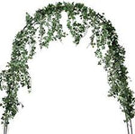 7.5 ft. Long Artificial Plants Green Ivy Leaves  Fake Foliage Decoration