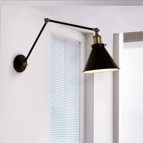 NEW 270° Adjustable Vintage Industrial Wall Sconce Light Retro Arm Wall lamp