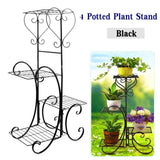 4 Tier Simple Metal Plant Stands