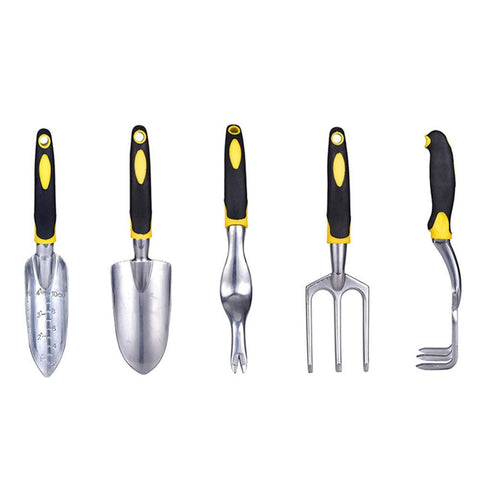 Stainless Steel  Gardening Flower Potting Tool Set Hoe Shovel Rake Weeding