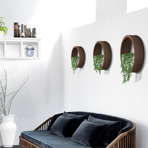 4 Colors Hanging Round Wall Vase