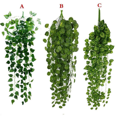 1Pcs Artificial Fake Hanging Vine