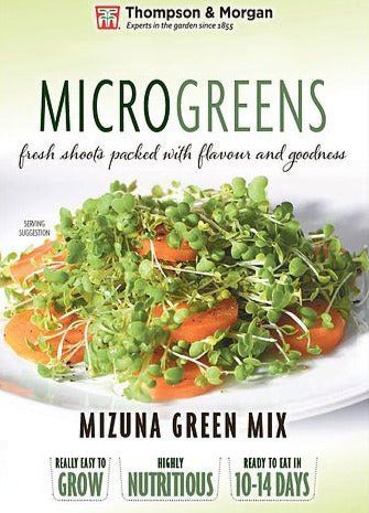 Mizuna Green Mix Seeds (Microgreens)