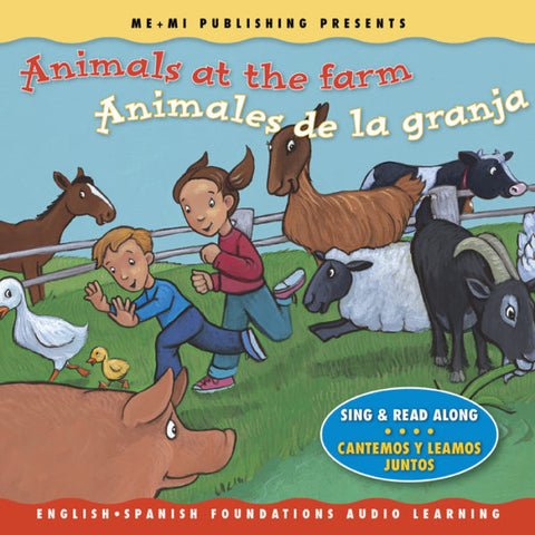 Animals at the farm CD / Animales de la granja