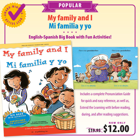My family and I Big Book/ Mi familia y yo