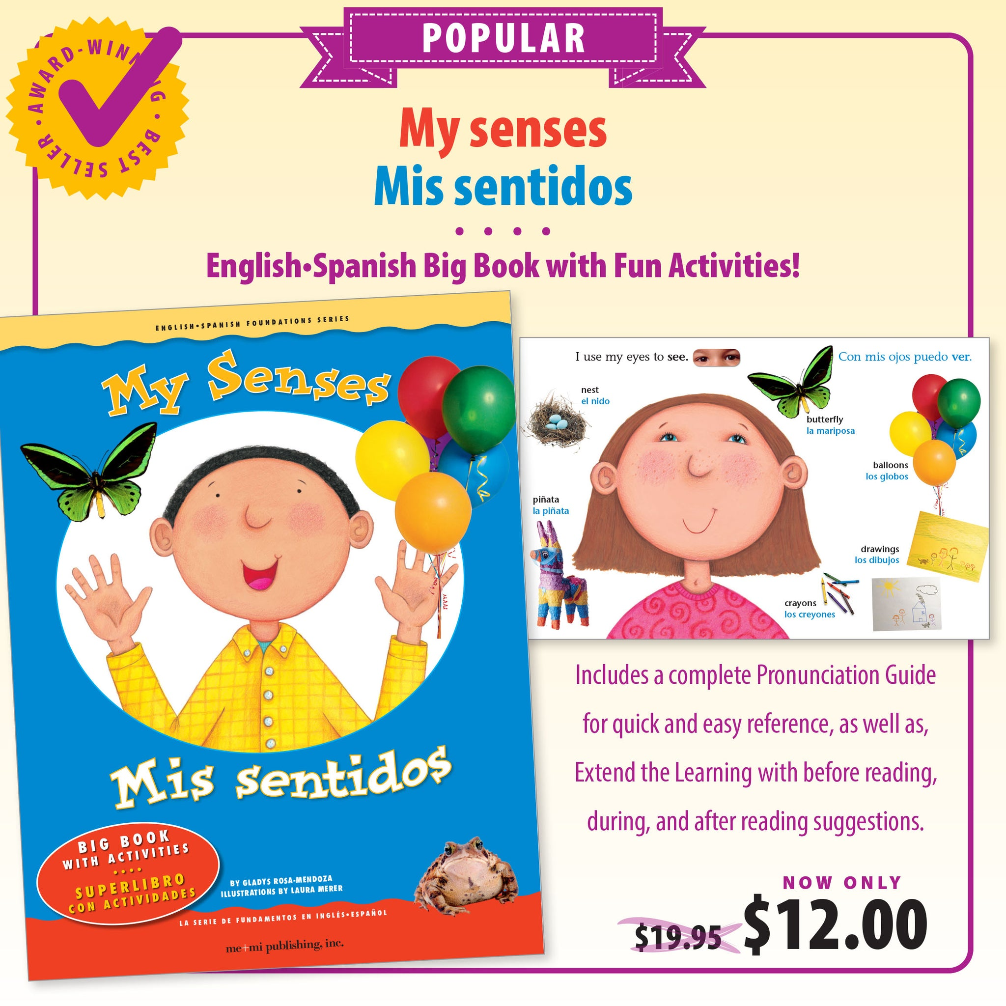 My senses Big Book / Mis sentidos