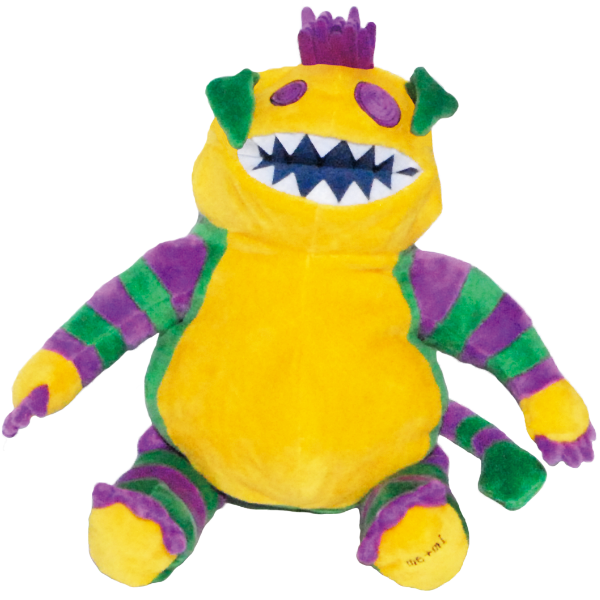 Memi the monster (Stuffed) / Memi el monstruo