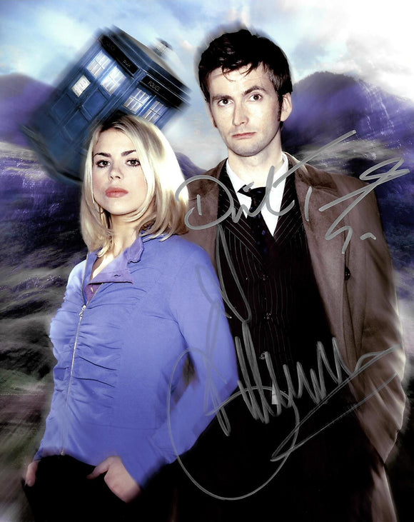 David Tennant and Billie Piper Autograph